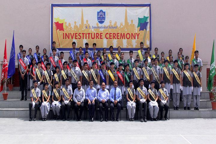 K L International School-Investiture Cermony