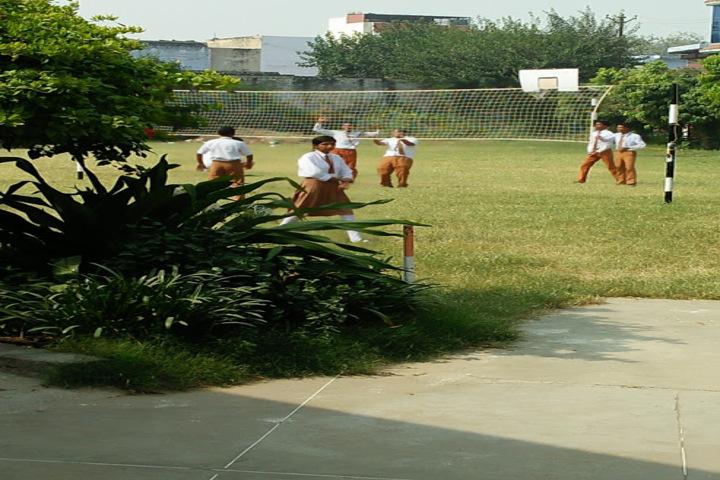 K P Public School-Playground View
