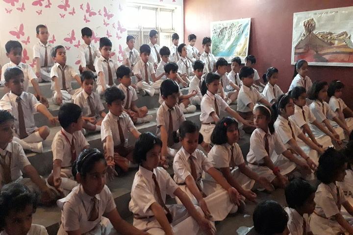K P Public School-Meditation
