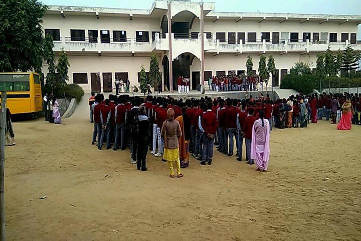 K V Public School-Assembly View