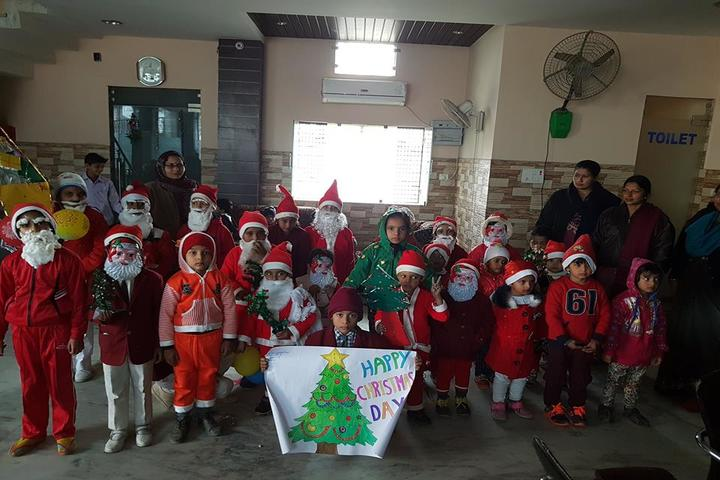 K V Public School-Christmas Day Celebrations