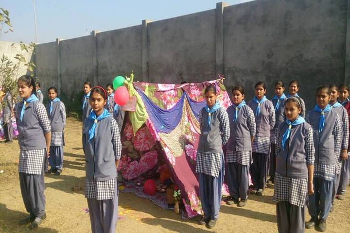 K V Public School-Scouts and Guides View
