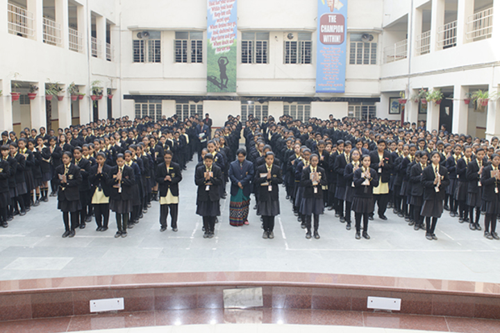 St Karens High School-Assembly