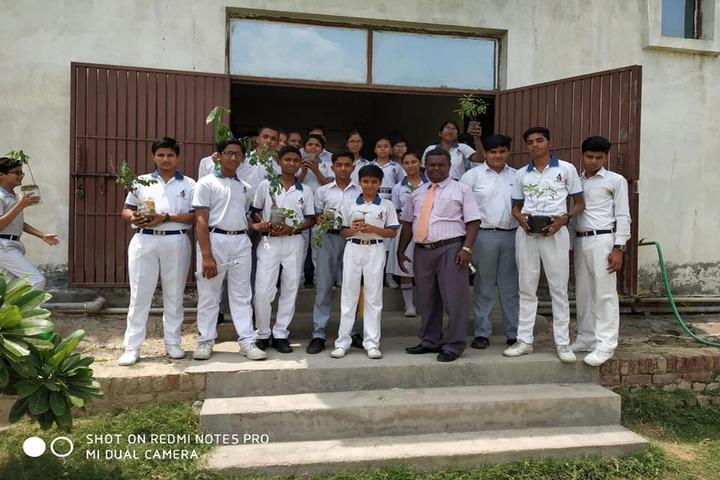K D International School-Plantation Activity