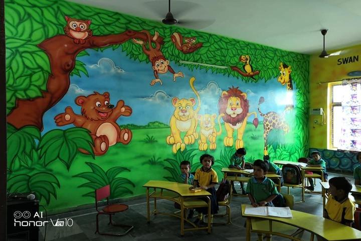 K D International School-Pre Primary Classroom