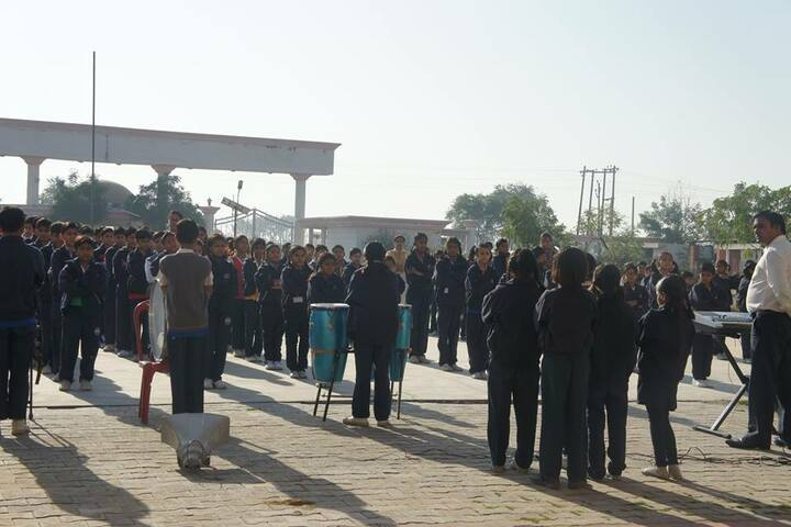 K.N.International School-Assembly View