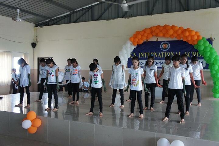 K.N.International School-Independence Day Celebrations