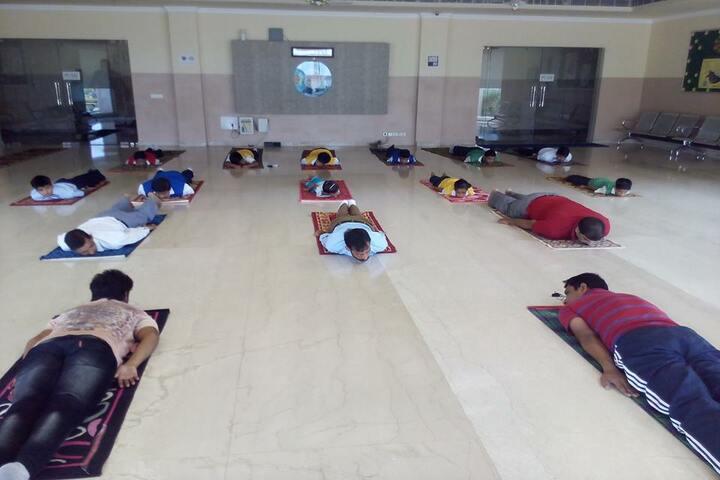 K.N.International School-Yoga