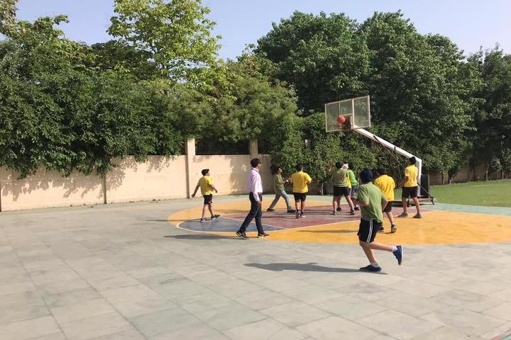 K.R.Mangalam World School-Basketball Court