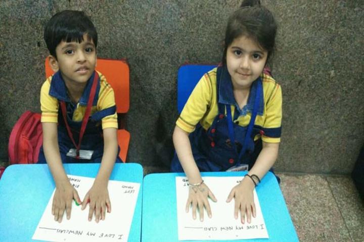 K.R.Mangalam World School-Craft-Activity