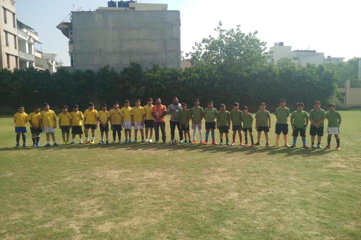 K.R.Mangalam World School-Playground View