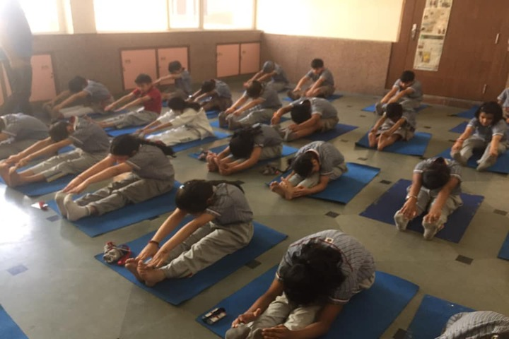 K.R.Mangalam World School-Yoga