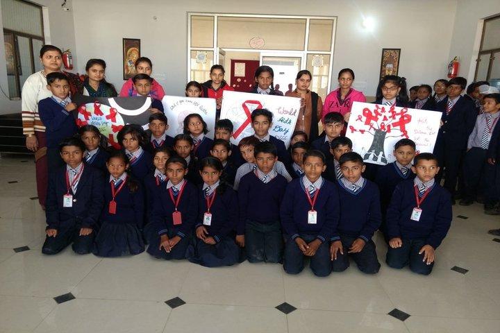 K R S D Public School-Worlds Aids Day