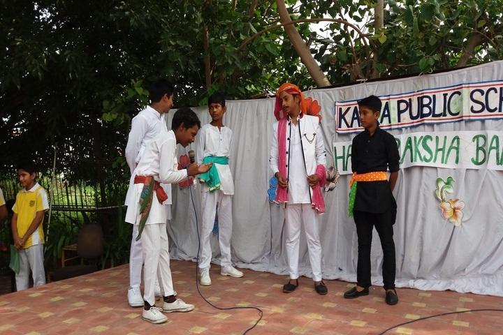 Kalka Public School-Special Assembly On Raksha Bhandan