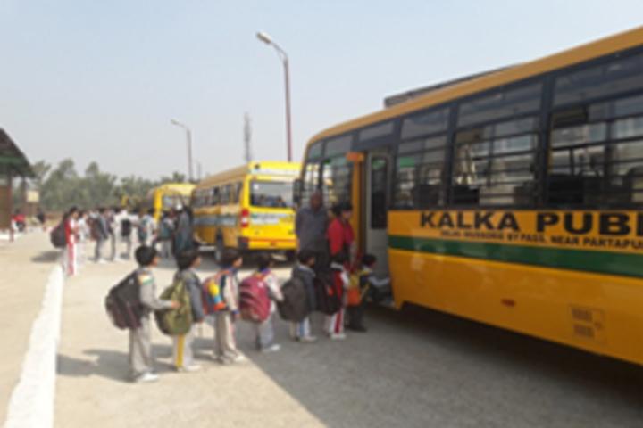 Kalka Public School-Transport Facilities