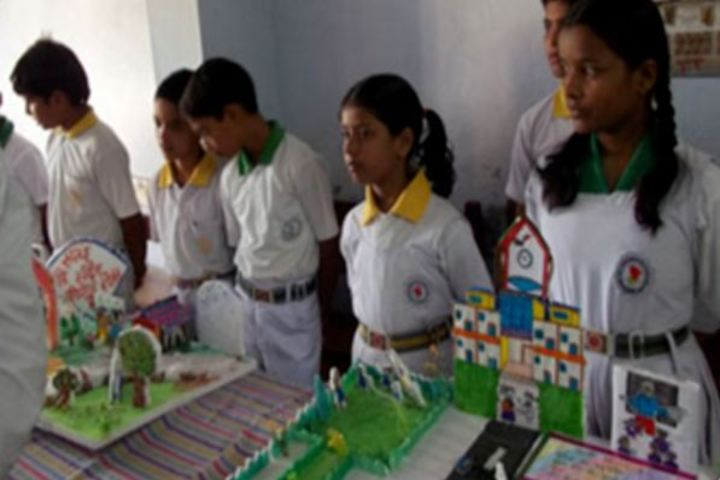 Kamla Nehru Bal Shiksha Sansthan-Science Exhibition