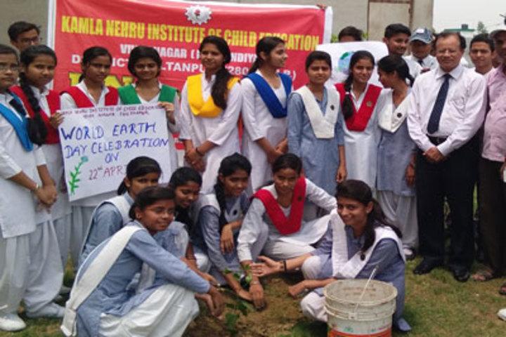 Kamla Nehru Institute Of Child Education-Tree Plantation