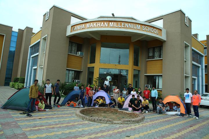 Kanha Makhan Millennium School-Campus View
