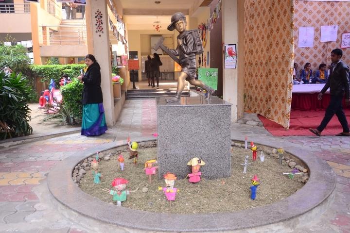 Kanha Makhan Millennium School-Corridor View