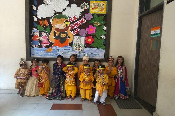 Kanha Makhan Millennium School-Krishnastami Celebrations