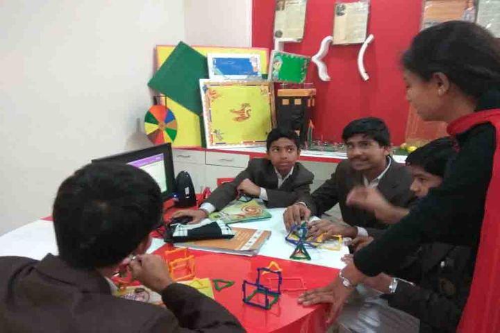 Kanha Makhan Millennium School-Maths Lab