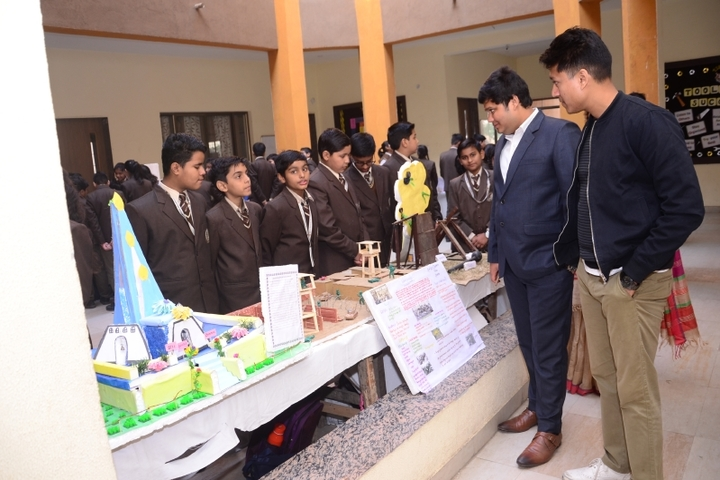 Kanha Makhan Millennium School-Science Fair