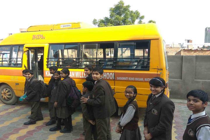 Kanha Makhan Millennium School-Transport Facilities