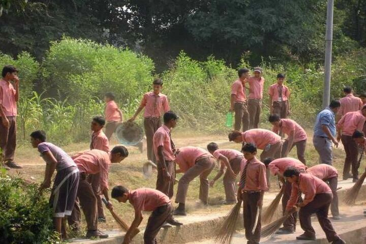 St Marys English School-Cleanliness Drive