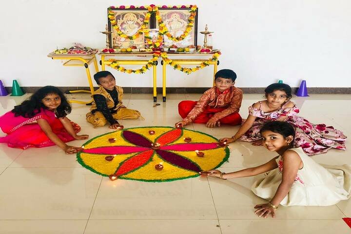 Delhi Public School - Sankranthi Celebrations