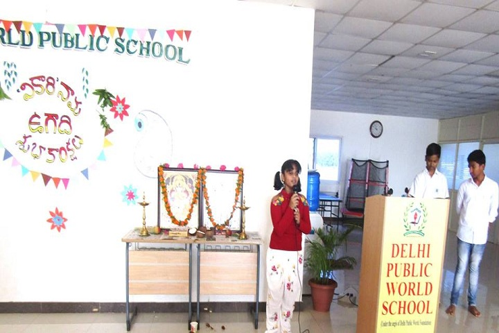 Delhi Public School - Ugadi Celebrations
