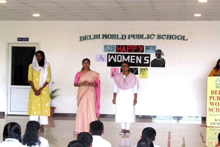 Delhi Public School - Womens Day Event