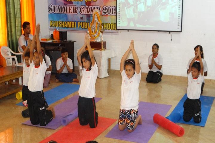 Kaushambi Public School-Summer Camp