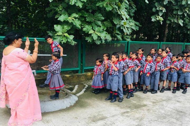 Kendriya Vidyalaya-Hand Wash Day