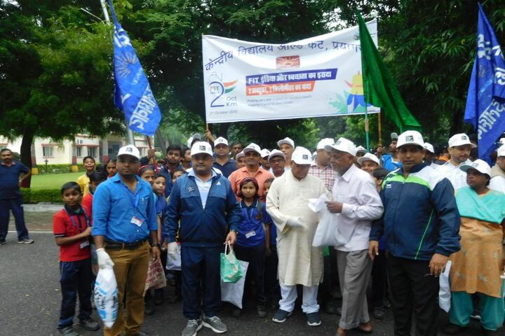 Kendriya Vidyalaya-Fit India Movement Celebrations