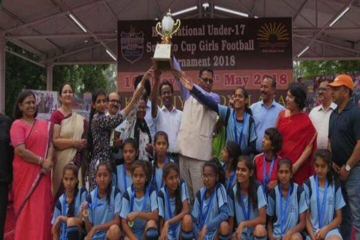 Kendriya Vidyalaya-Foot Ball Tournment Champions