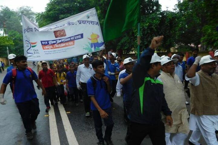 Kendriya Vidyalaya-School rally