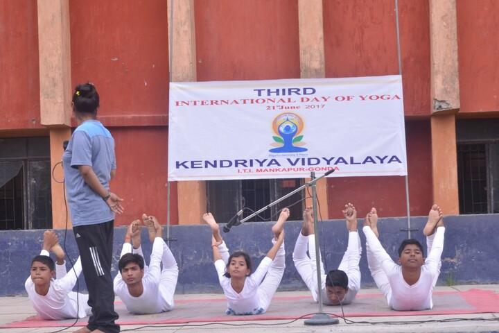 Kendriya Vidyalaya-Yoga Day