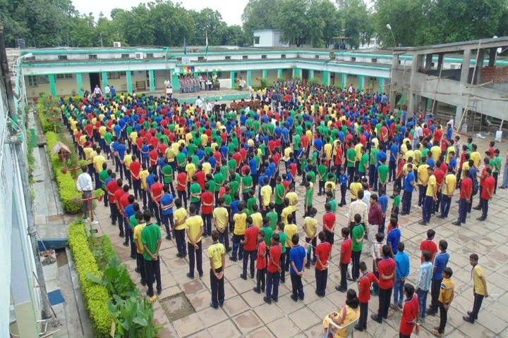 Kendriya Vidyalaya-Assembly-Ground