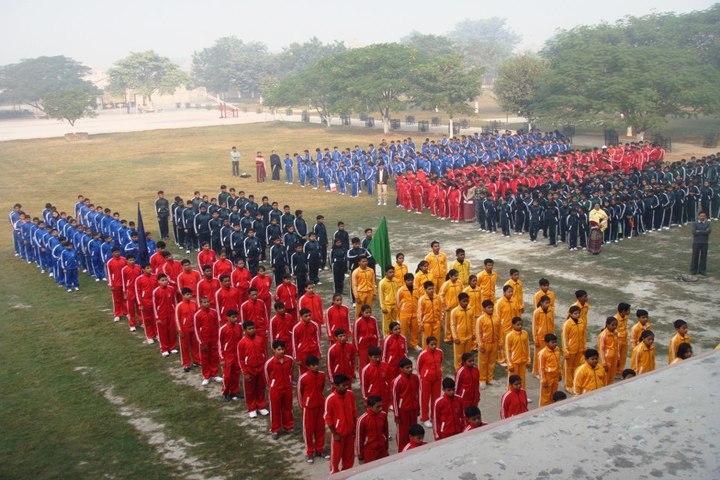 St Xaviers Senior Secondary School-Assembly