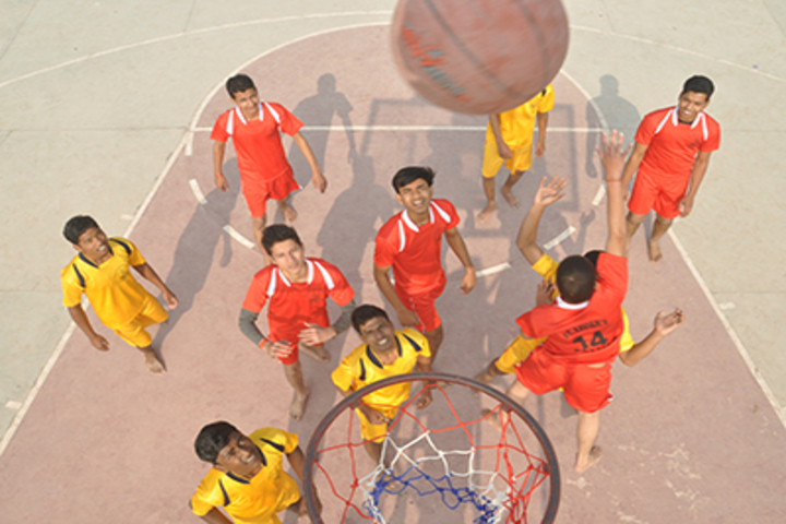 St Xaviers Senior Secondary School-Basket Ball Court