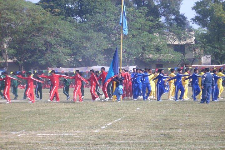St Xaviers Senior Secondary School-Sports Meet