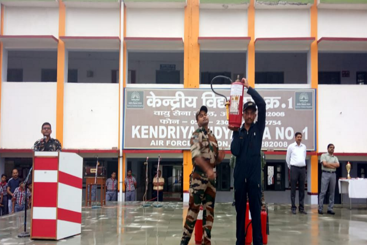 Kendriya Vidyalaya No 1-Fire Camp Demo