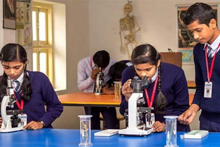 St Xaviers English High School-Biology Lab
