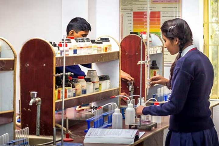 St Xaviers English High School-Chemistry Lab