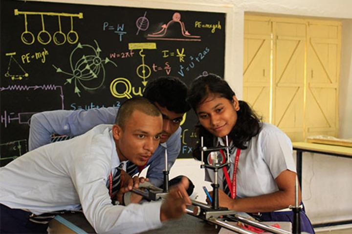 St Xaviers English High School-Physics Lab