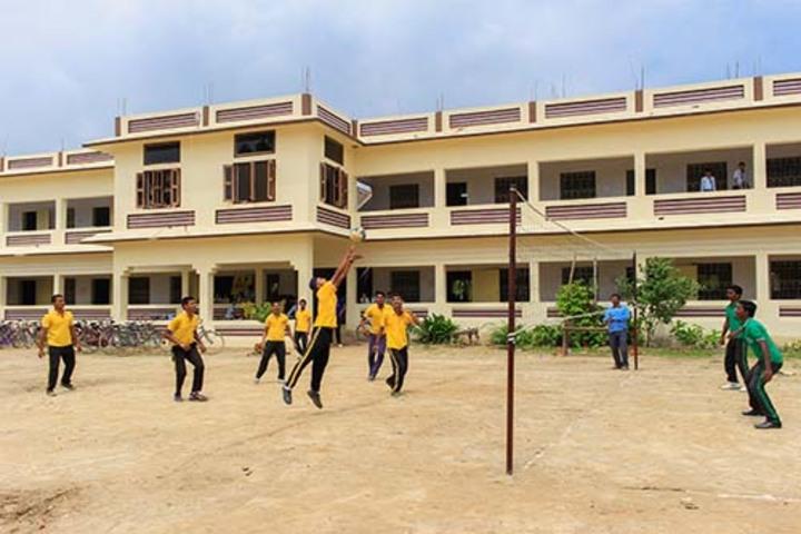 St Xaviers English High School-Playground