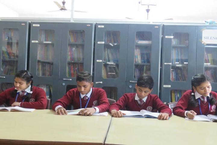 St Xaviers English Medium School-Library