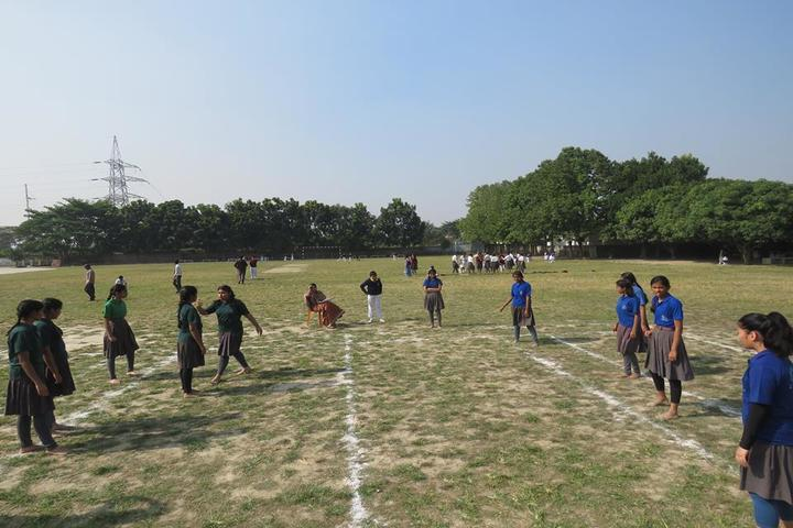 St Xaviers English Medium School-Play Ground