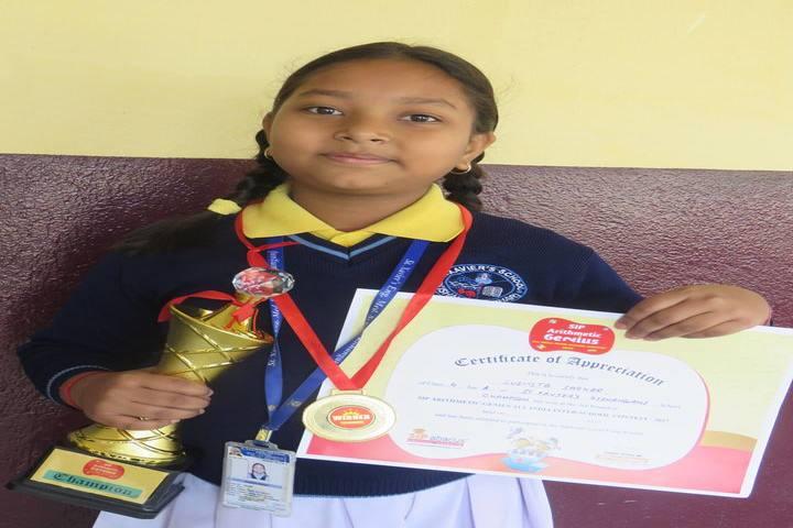 St Xaviers English Medium School-Reward