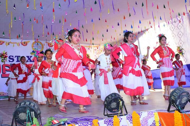 St Xaviers English Medium School-Traditional Dance